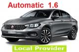 Fiat Tipo 1.6 a/c 4 door large trank space 5 passenger Automatic __